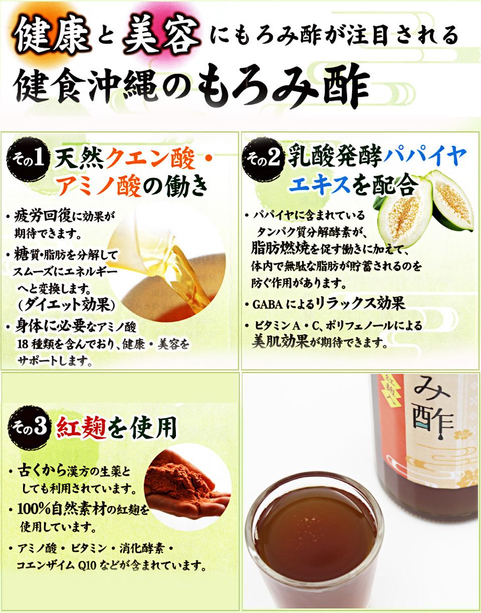健康と美容にもろみ酢が注目されています